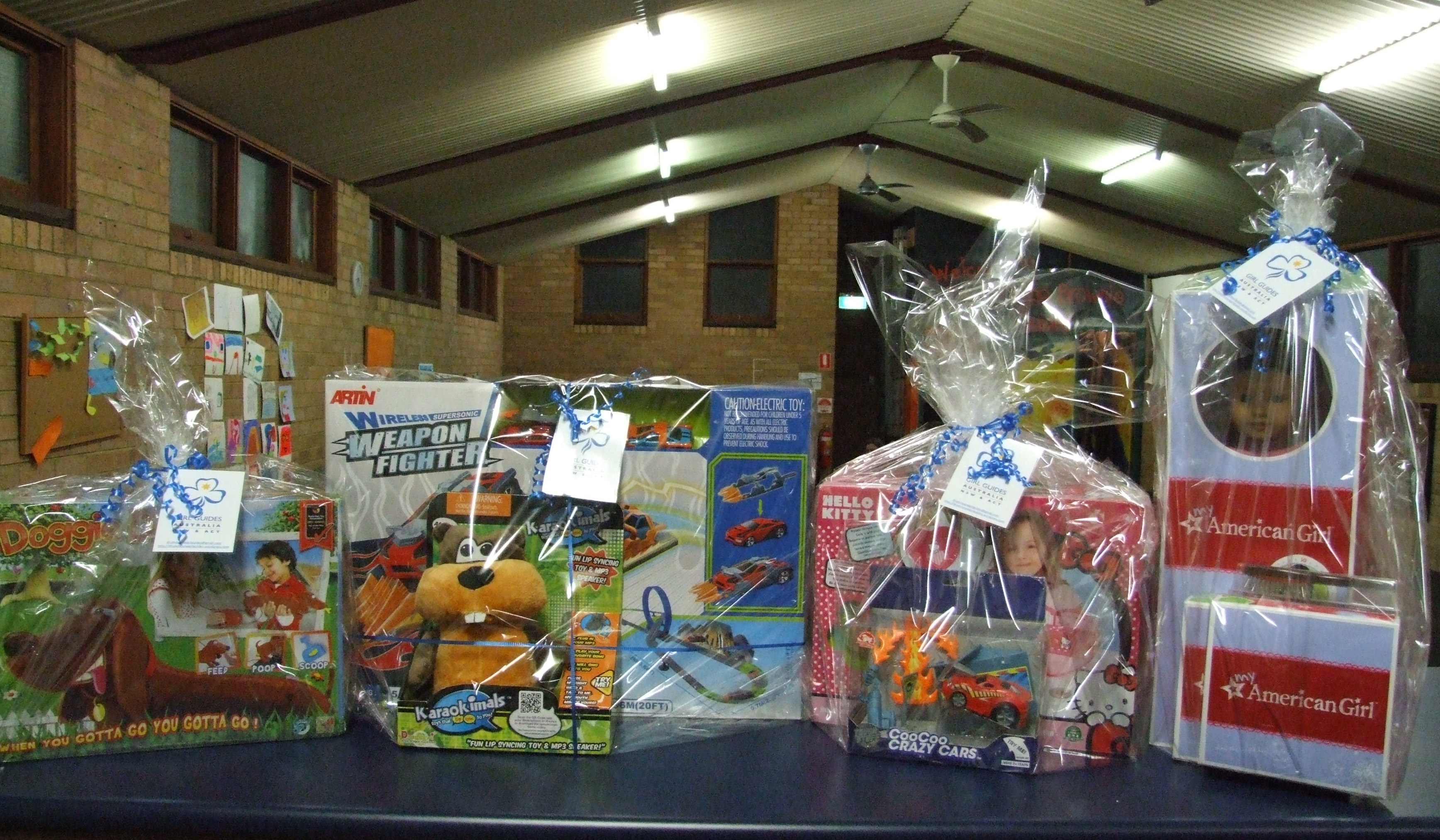 Toy Raffle Prizes : And the winners are… drummoynegirlguides